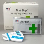 First Sign urine drug testing kits