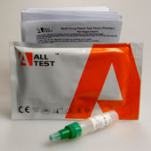 Surface drug test kit